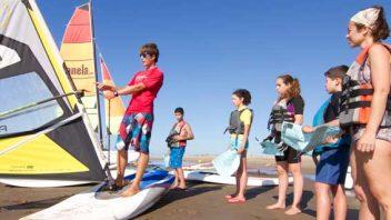Windsurf initiation course