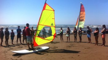 Windsurf initiation course