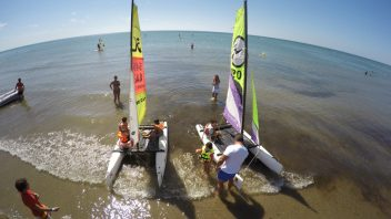CHILDREN'S CATAMARAN INITIATION COURSE