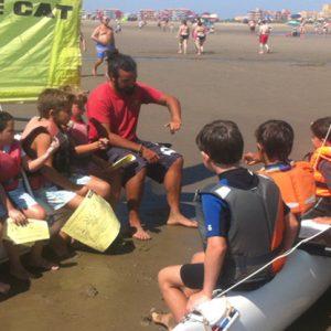 curso de vela en Punta del Moral Huelva