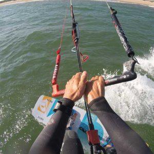 kite-surf en primera persona
