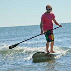 Monitor de Paddle surf en Isla canela . Huelva con Kanela Sailing School