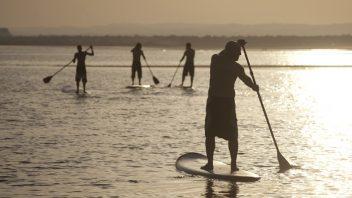 Travesia kayak y paddle surf