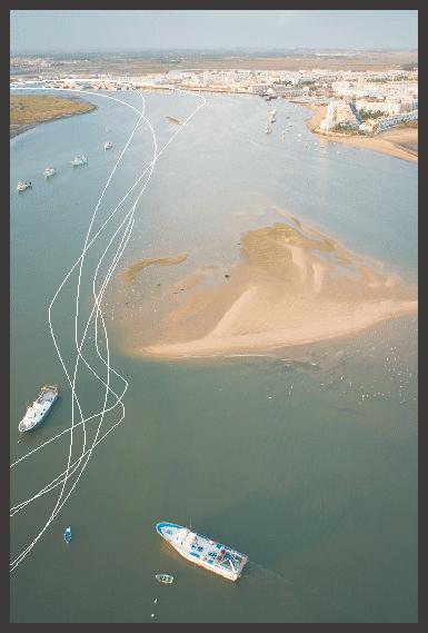Recorrido de ruta en kayak por Isla Cristina