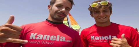 equipo de Kanela Sailing School en Isla Canela