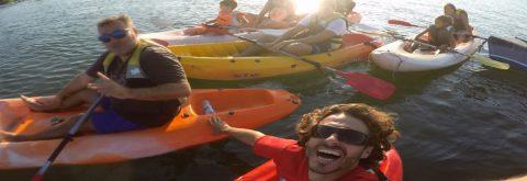 Somos una escuela de vela en Isla Canela y Punta del Moral