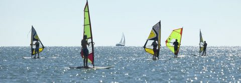 escuela de vela y kitesurf en Isla Canela, Ayamonte, Huelva