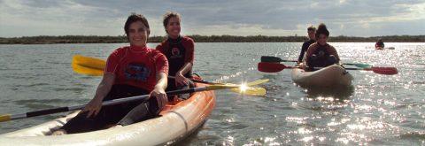 Actividad Nautica en Huelva, Isla Canela con Kanela Sailing Scool