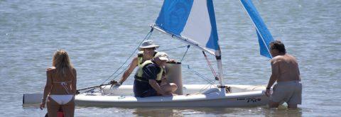 Embarcación Neumática en Punta del Moral