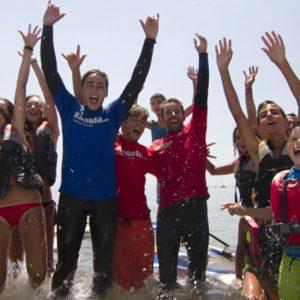 campus waterman junior en Isla Canela y Punta del Moral