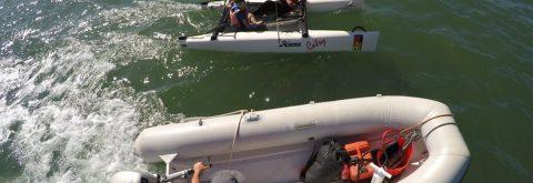 curso de catamaran infantil en Punta del Moral e Isla Canela , Huelva