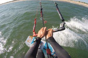 Kite surfing Isla Canela