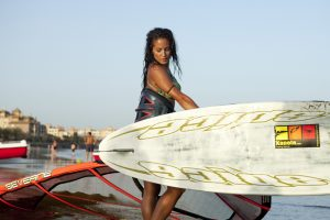 windsurf en Isla Canela