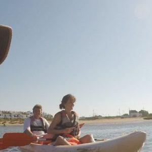 Travesia en Kayak por el Rio Guadiana , Ayamonte, Huelva