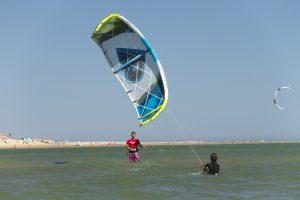 curso de kitesurf en Huelva kanela sailing school