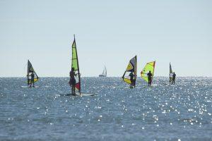 Windsurf en la playa de Punta del Moral