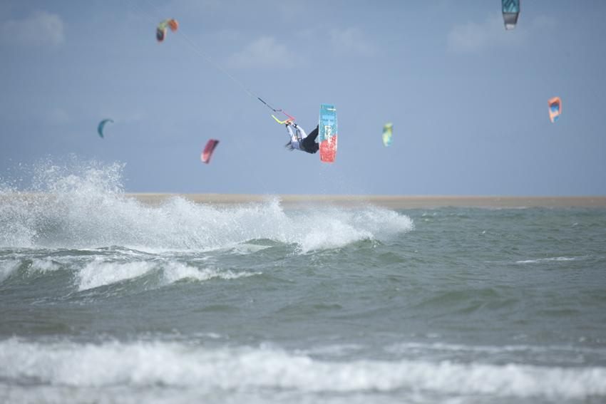 kitesurf en Isla Canela Huelva
