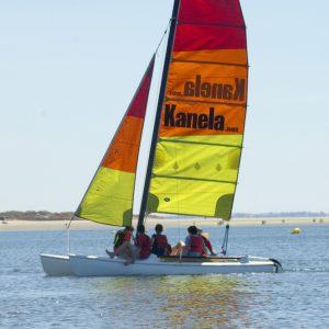 Curso Catamaran Isla Canela